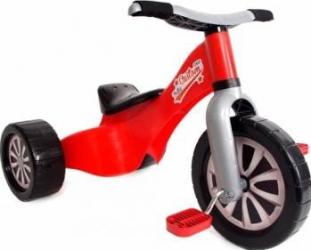 Tricicleta copii Palau 1522 din plastic Rosie Triciclete