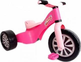 Tricicleta copii Palau 1598 din plastic Roz Triciclete