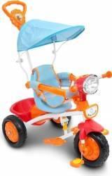 Tricicleta cu maner muzica si lumini Piccino Piccio Triciclete