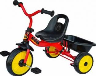 Tricicleta cu maner red Nordic Hoj Triciclete