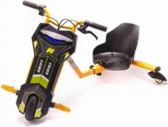 Tricicleta Electrica Eboda Freewheel Super Power Drift Trike Portocaliu Vehicule electrice