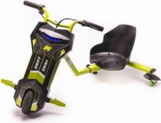 Tricicleta Electrica Eboda Freewheel Super Power Drift Trike Verde Vehicule electrice