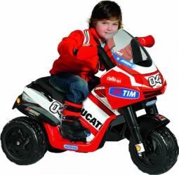 Tricicleta Electrica pentru Copii Peg Perego Ducati Desmosedici Rider VR 6V Rosu Masinute si vehicule pentru copii