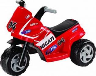 Tricicleta electrica pentru Copii Peg Perego Mini Ducati 6V Rosu Masinute si vehicule pentru copii