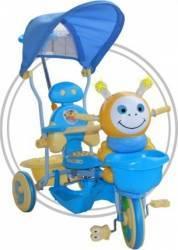 Tricicleta EURObaby 2801AC 236AC - Albastru Triciclete
