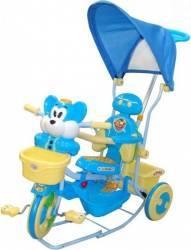Tricicleta EURObaby 2830AC - Albastru Triciclete