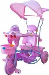 Tricicleta EURObaby 2890AC - Roz Triciclete
