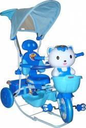Tricicleta EURObaby HQ2001 - Albastru Triciclete