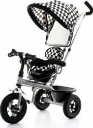 Tricicleta EURObaby T306 - Alb cu Negru Triciclete