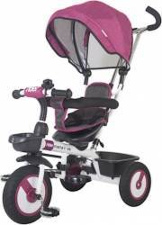 Tricicleta multifunctionala MamaLove Rider Violet Triciclete