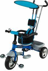 Tricicleta pentru copii Dhs Scooter Plus Albastra