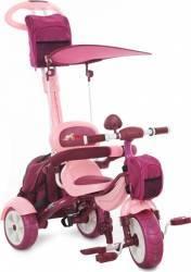 Tricicleta Pentru Copii MyKids Happy Trip KR03B Roz Triciclete