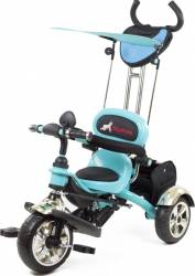 Tricicleta Pentru Copii MyKids Luxury KR01 Albastru Triciclete