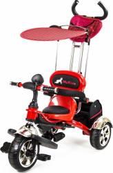 Tricicleta Pentru Copii MyKids Luxury KR01 Rosu Triciclete