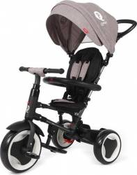Tricicleta pliabila QPlay Rito pentru copii Gri Triciclete