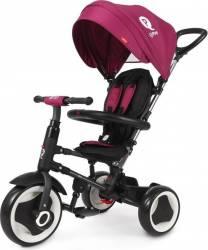 Tricicleta pliabila QPlay Rito pentru copii Violet Triciclete