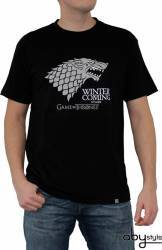 Tricou AbyStyle Game of Thrones Winter is coming XL Tricouri barbati