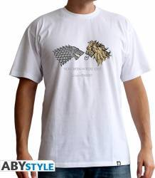 Tricou AbyStyle Game of Thrones Lannister VS Stark XL Tricouri barbati