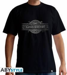 Tricou AbyStyle Game of Thrones Opening Logo M Tricouri barbati
