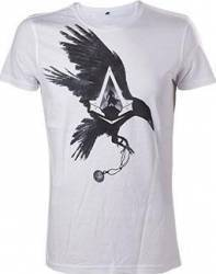 Tricou Assassins Creed Syndicate Alb Crow L Gaming Items