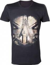 Tricou Assassins Creed Syndicate British Flag Negru M Gaming Items