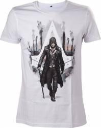 Tricou Assassins Creed Syndicate Jacob Frye Alb XL Gaming Items