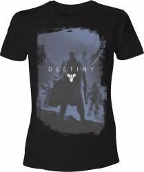 Tricou Destiny Negru XL Gaming Items