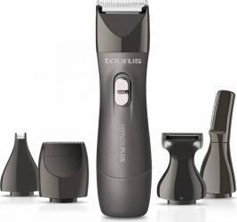 Trimmer multifunctional Taurus Hipnos Plus 3V. 5 capete interschimbabile Negru Aparate de tuns parul corporal