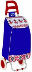 Troler de cumparaturi Heinner Care Folk Albastru 33 L accesorii bucatarie