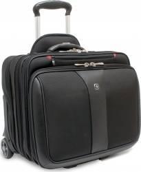 Troller Wenger Patriot 2 Pc Business Set Black Genti Laptop
