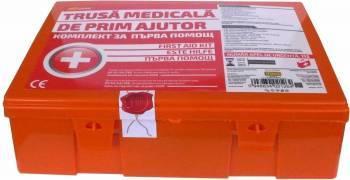 Trusa medicala de prim ajutor RoGroup Kit uri Siguranta Auto
