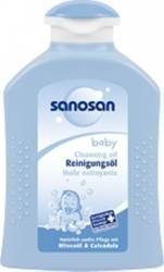 Ulei de corp pentru copii Sanosan Cleansing Oil 200ml