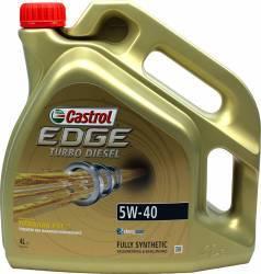 Ulei motor Castrol Edge Titanium FST Turbo Diesel 5W40 4L Ulei Motor