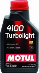 Ulei motor Motul 4100 Turbolight 10W40 1L Ulei Motor