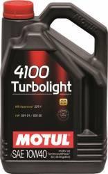 Ulei motor Motul 4100 Turbolight 10W40 4L Ulei Motor
