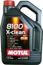 Ulei motor Motul 8100 X-clean 5W40 5L Ulei Motor