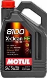 Ulei motor Motul 8100 X-Clean FE 5W30 4L Ulei Motor