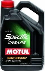 Ulei motor Motul Specific CNG LPG 5W40 5L Ulei Motor