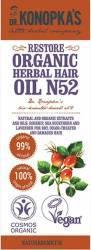 Ulei organic Dr. Konopka No.52 regenerant pentru par uscat deteriorat 30 ml Masca