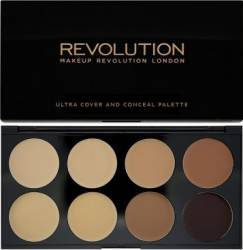 Corector Makeup Revolution London Ultra - Cover and Conceal - Medium - Dark