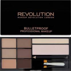 Kit sprancene Makeup Revolution London Ultra Brow - Fair to Medium Make-up ochi