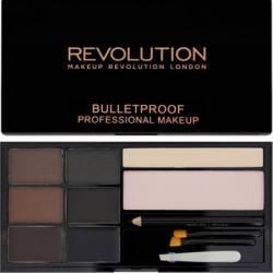 Kit sprancene Makeup Revolution London Ultra Brow - Medium to Dark Make-up ochi