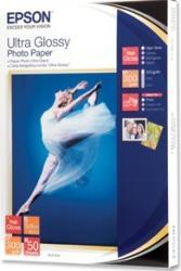 Ultra Glossy Photo Paper Epson 13x18 cm 50 Blatt Hartie