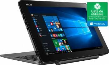 pret preturi Ultrabook 2in1 Asus Transformer Book T101HA Intel Atom Quad-Core x5-Z8350 64GB eMMC 2GB Win10 WXGA