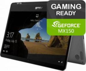 Ultrabook 2in1 Asus Zenbook Flip UX461UN Intel Core Kaby Lake R(8th Gen) i7-8550U 512GB 8GB nVidia MX150 2GB Win10 FHD Laptop laptopuri