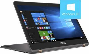 Ultrabook 2in1 Asus ZenBook UX360UAK Intel Core Kaby Lake i7-7500U 256GB 8GB Win10 FullHD IPS Touch Laptop laptopuri