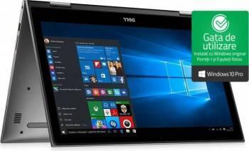 Ultrabook 2in1 Dell Inspiron 5579 Intel Core Kaby Lake R (8th Gen) i5-8250U 256GB 8GB Win10 Pro FullHD Tast. ilum. Laptop laptopuri