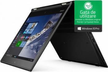 Ultrabook 2in1 Lenovo ThinkPad Yoga 260 Intel Core Skylake i5-6200U 256GB 8GB Win10 Pro FullHD Touch Fingerprint Laptop laptopuri