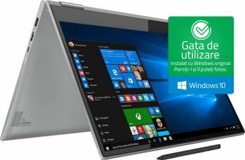 pret preturi Ultrabook 2in1 Lenovo Yoga 730-15IWL Intel Core Whiskey Lake (8th Gen) i7-8565U 512GB 16GB GTX 1050 4GB Win10 FullHD