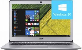 Ultrabook Acer Swift 3 SF314 Intel Core Kaby Lake R 8th Gen i5-8250U 256GB 8GB nVidia GeForce MX150 2GB Win10 Laptop laptopuri
